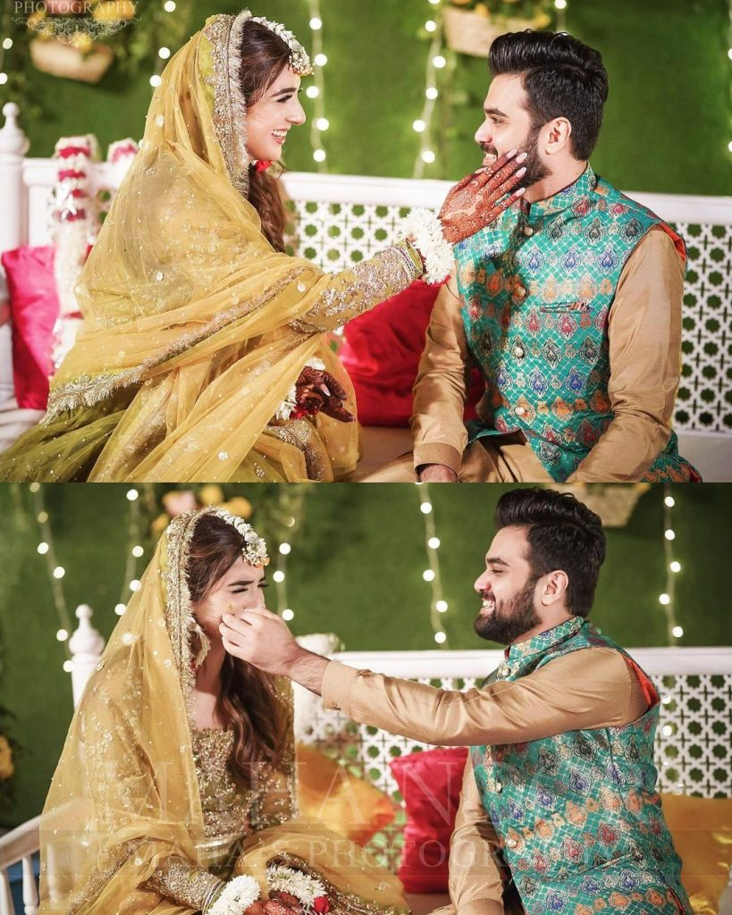 Rabab Hashim Mehndi Pictures