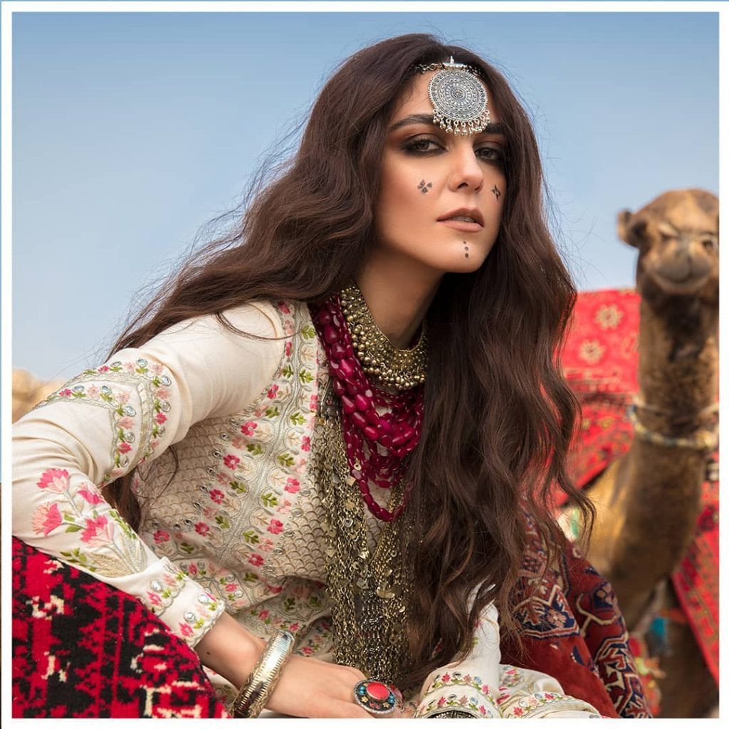 Latest Collection Of Crimson Featuring Maya Ali