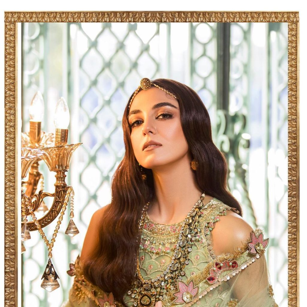 Maya Ali Stuns In Her Latest Shoot For Noor By Sadia Asad