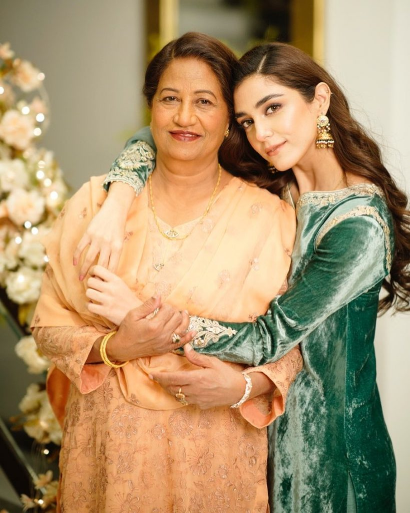Maya Ali Expresses Immense Love Towards Her Mother