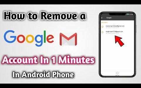 remove-google-account