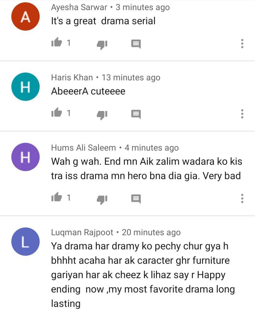 Public Reaction On Last Episode Of Drama Serial Muqaddar