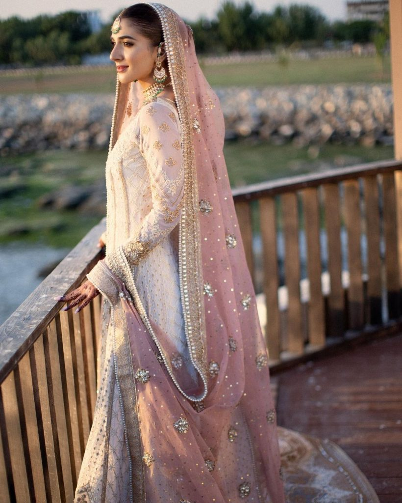 Rabab Hashim's Wedding Dress Was Worn By This Famous Actress Before