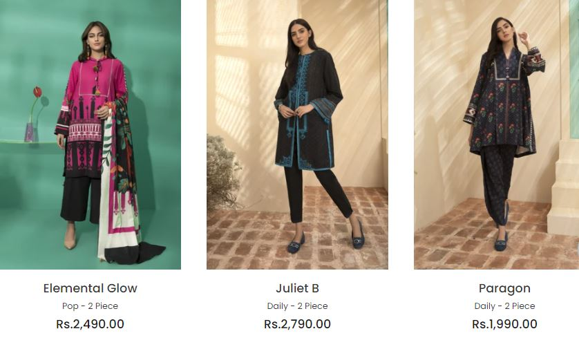Sapphire Winter Collection 2020- Pictures And Prices