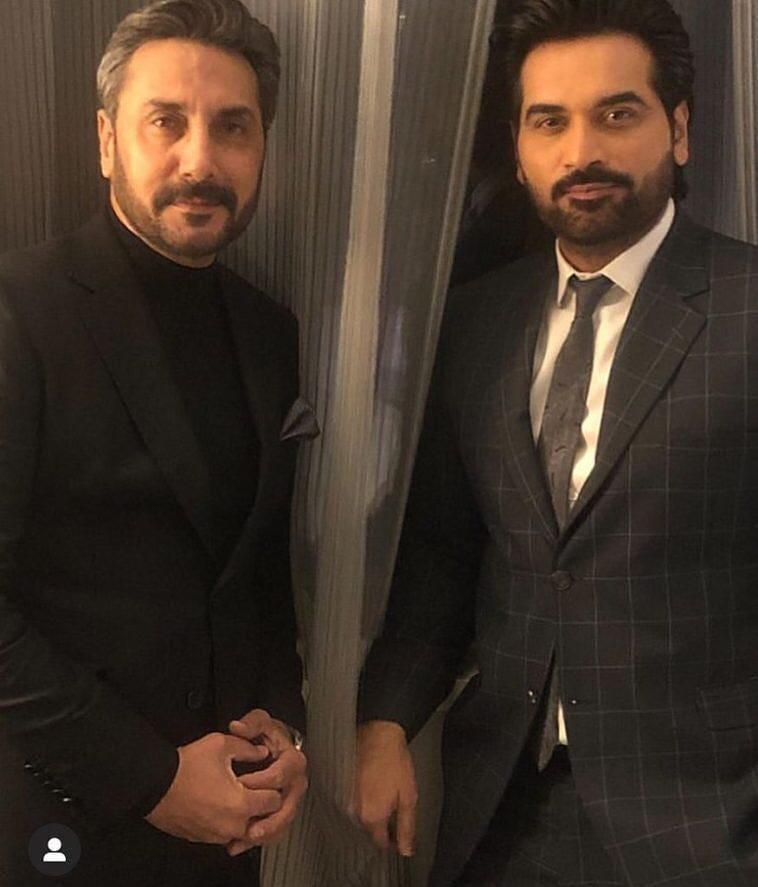 Adnan Siddiqui And Humayun Saeed