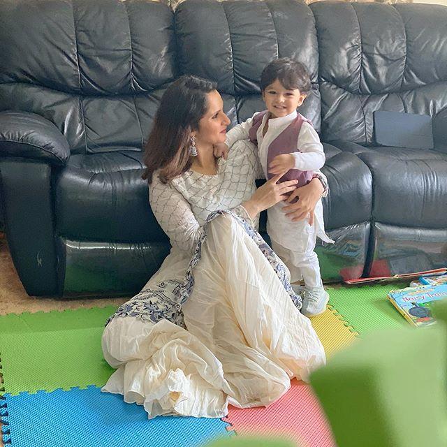 Sania Mirza's Son Reciting Duas Beautifully
