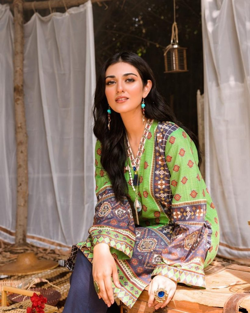 Sarah Khan Slaying in Eastern Dresses After Her Marriage