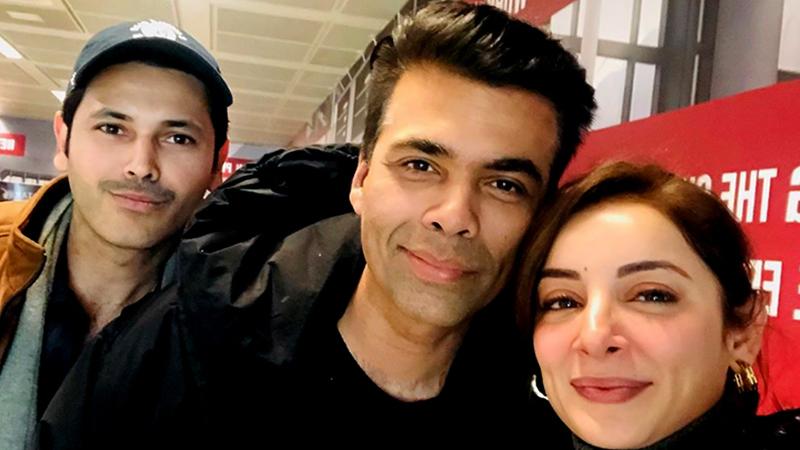 Sarwat Gilani Meeting With Karan Johar