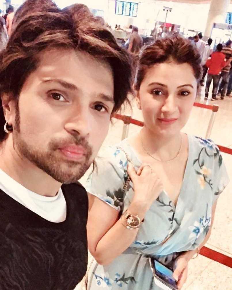 Himesh Reshammiya Wife | Lovely pictures
