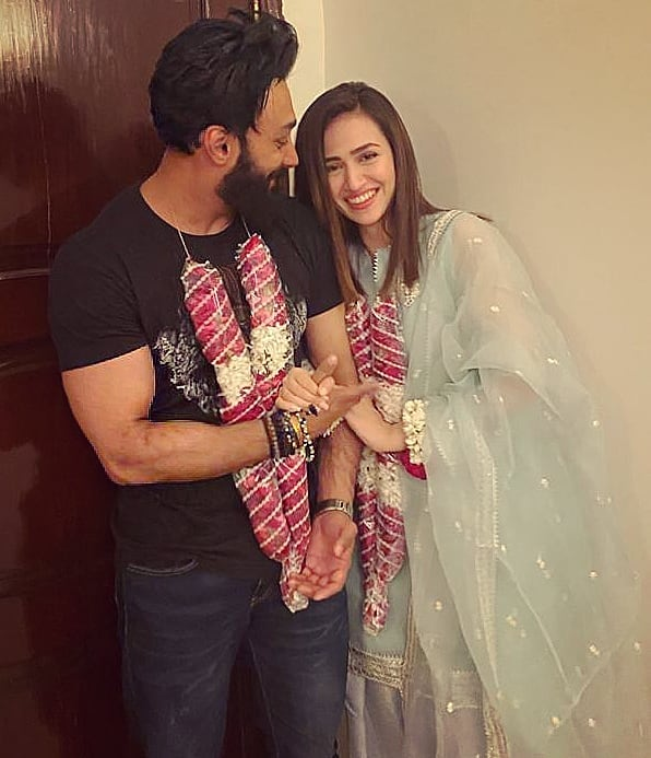 Sana Javed Shares A Throwback Picture From Her Engagement