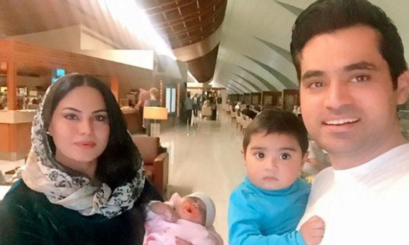 Custody Fight Between Veena Malik And Her Ex-Husband