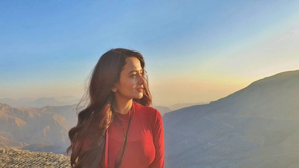 Photos of Zarnish Khan That Reveal Her Love for Travelling