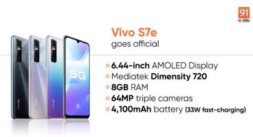 Vivo S7e Price in Pakistan and Specifications