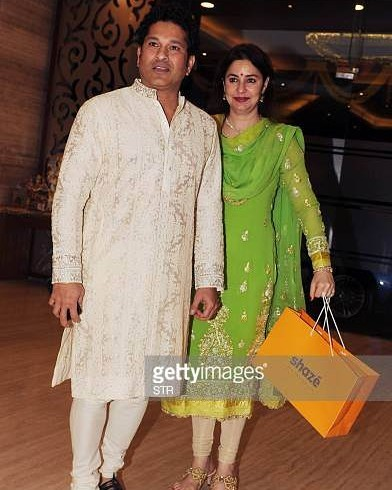 Sachin Tendulkar Wife | 10 Captivating Pictures