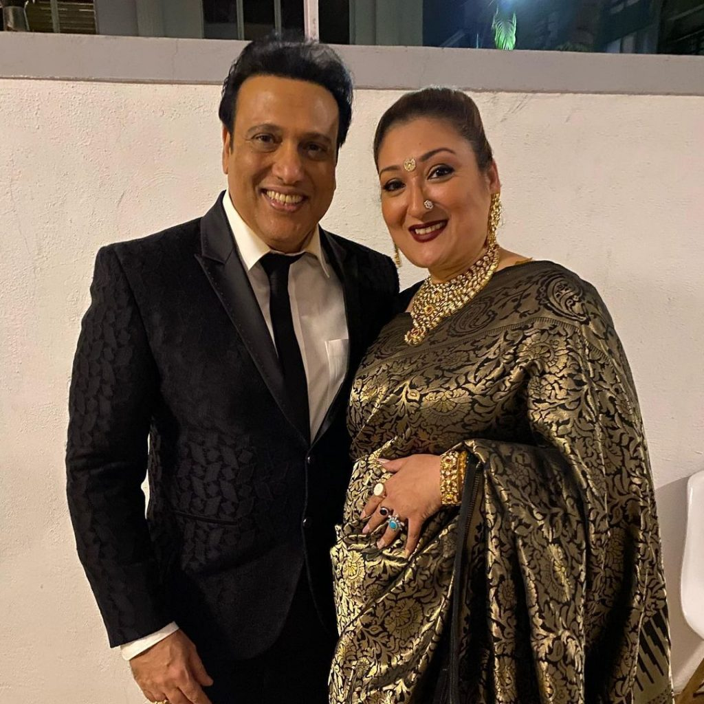 Govinda Wife | 10 Catchy Pictures