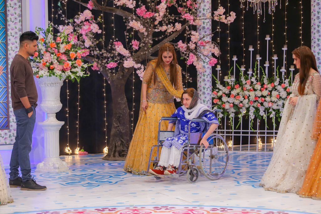 Kashee Fulfilled Wish Of A Disabled Girl