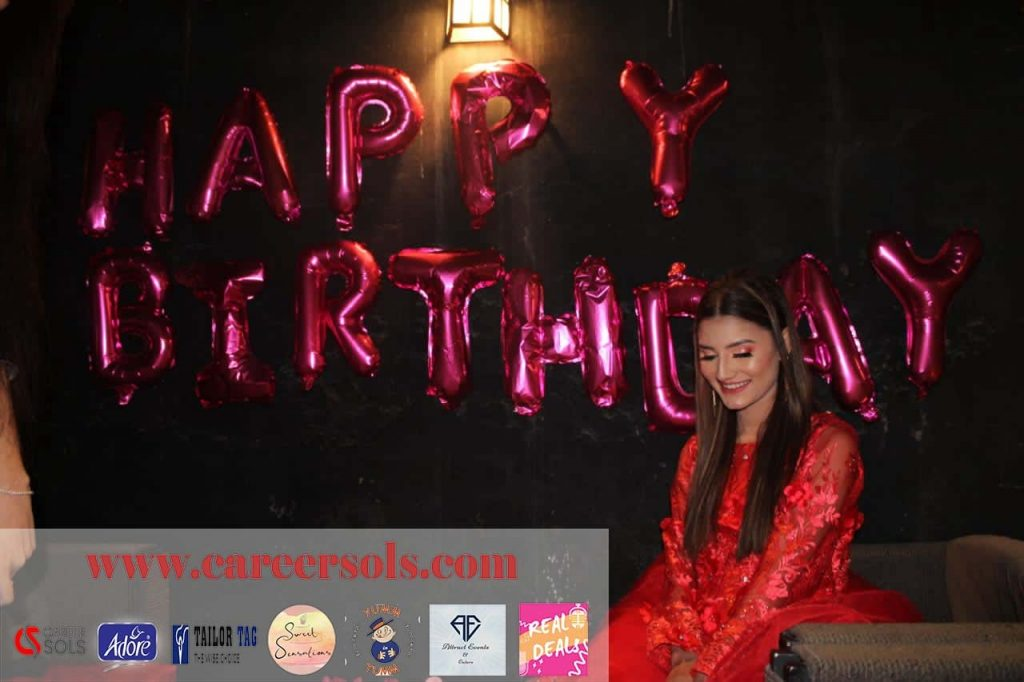 Pre Birthday Celebration Of Viral Girl Nimra Ali
