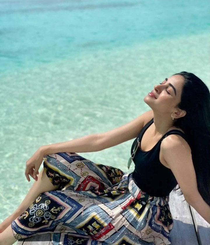 Exotic Picture Of Anmol Baloch In Maldives