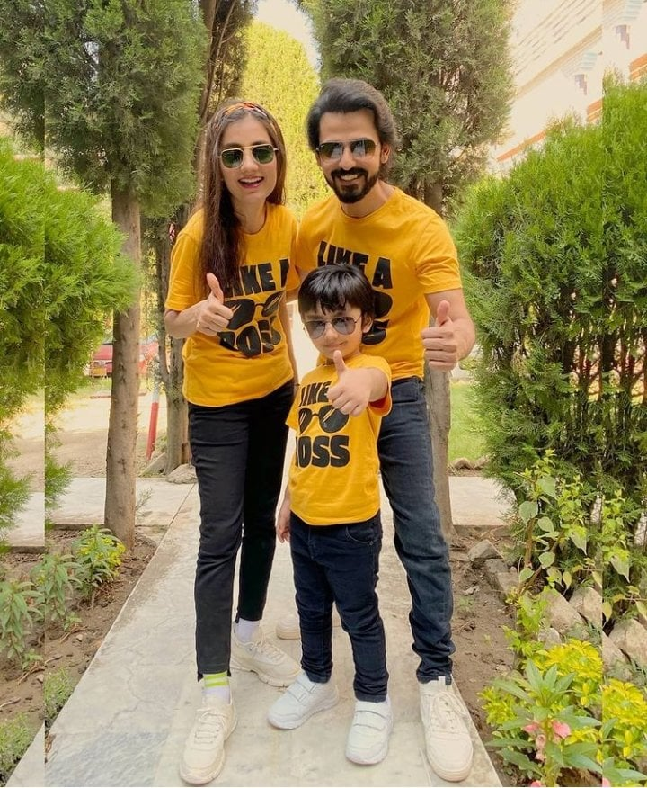 Adorable Picture Of Bilal Qureshi With Family