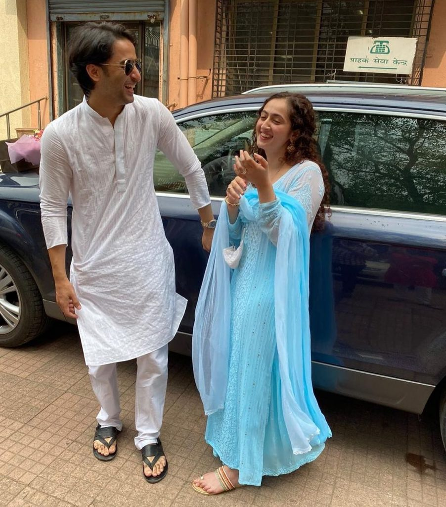 Shaheer Sheikh Wife | 10 Admirable Pictures