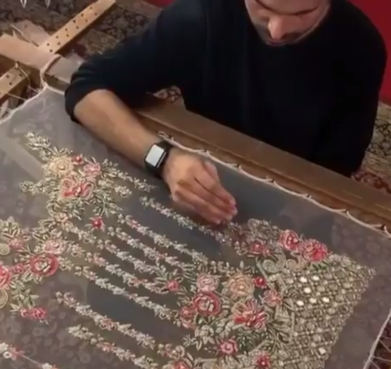 Mind-blowing Embroidery Work Done By Kashif Aslam