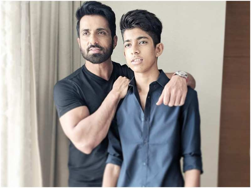 Sonu Sood Son | 10 Striking Pictures