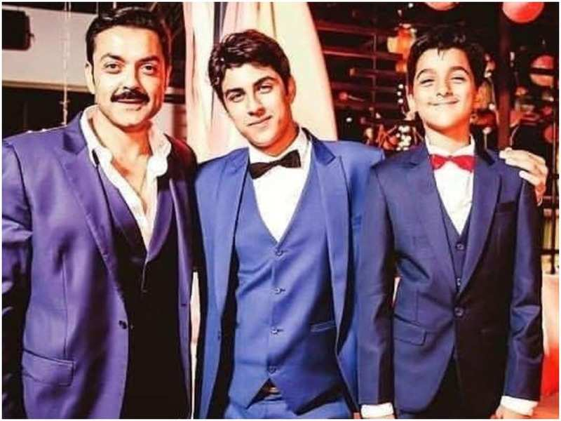 Bobby Deol Son | 10 Lovely Pictures