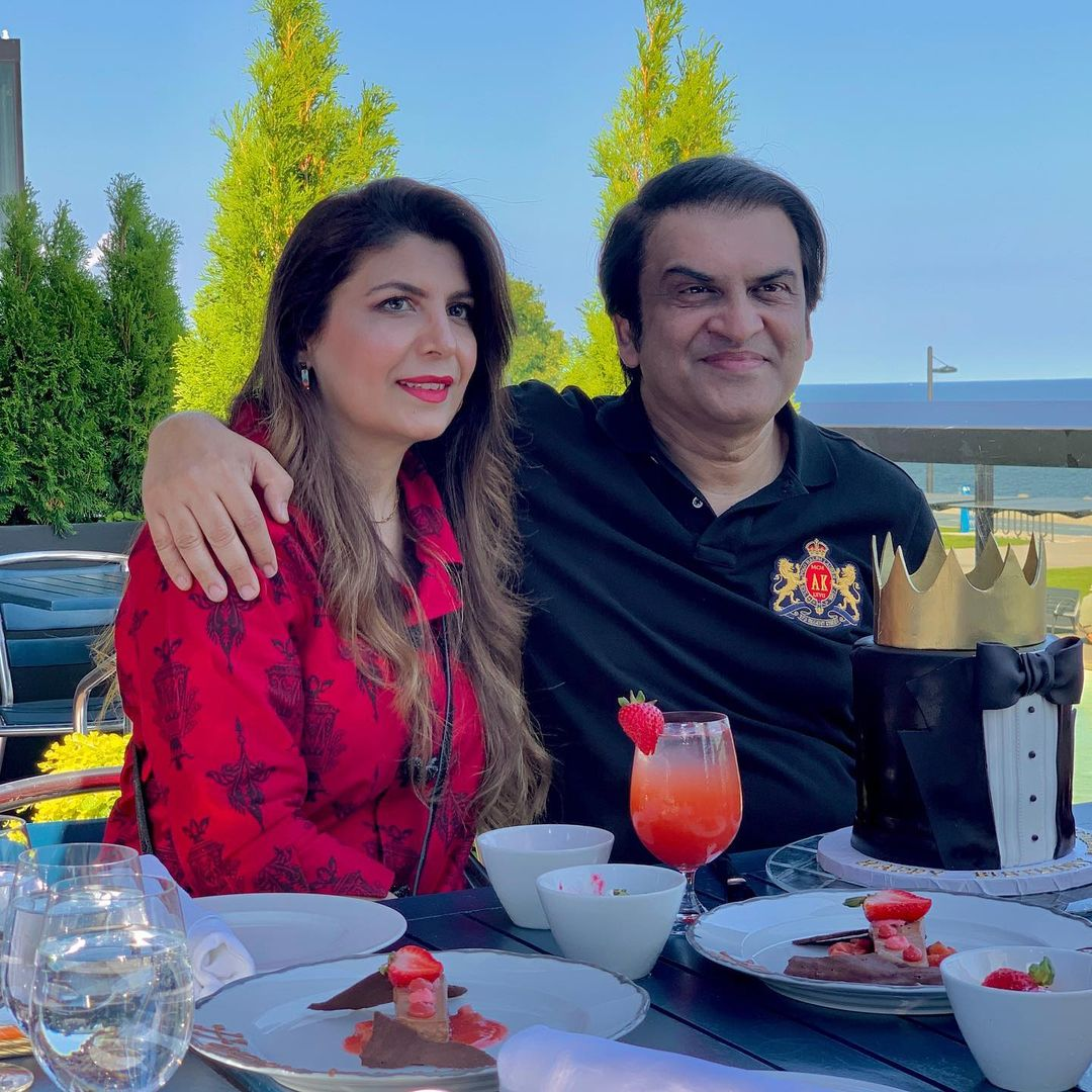 Producer Abdullah Kadwani Celebrating His Son Birthday