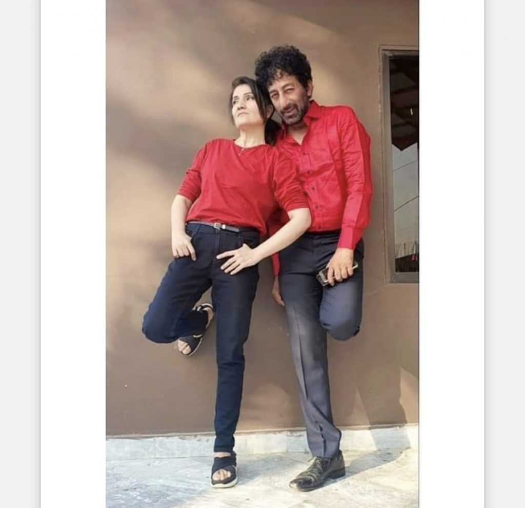 Adnan Shah Tipu With His Wife - Romantic Pictures