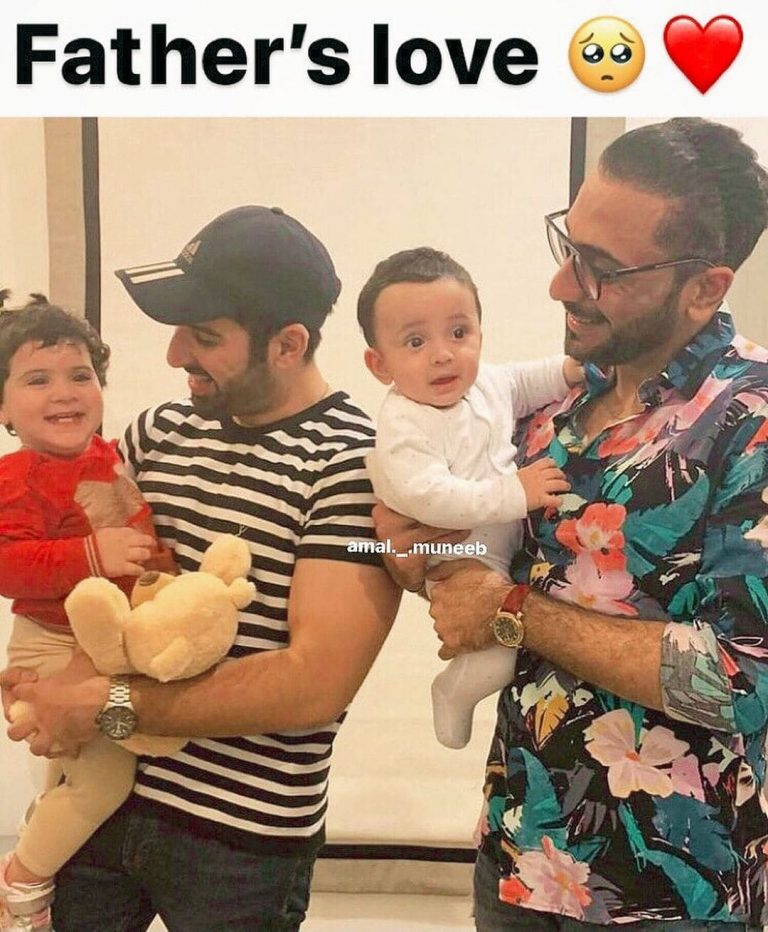 Amal Muneeb with her Father Muneeb Butt - Latest Pictures