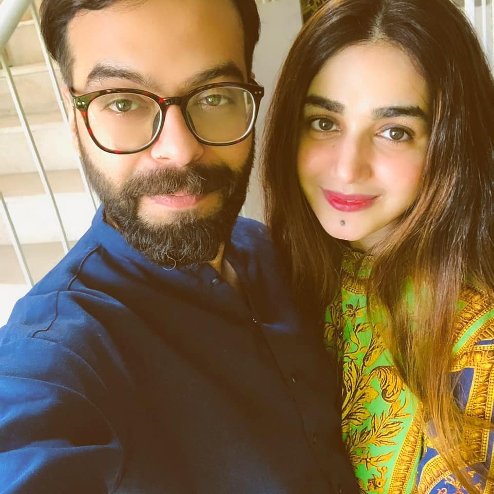Anum Fayaz with her Husband - Latest Pictures