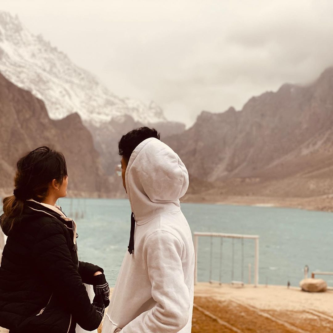 Viral Couple Asad and Nimra in Northern Areas - New Pictures