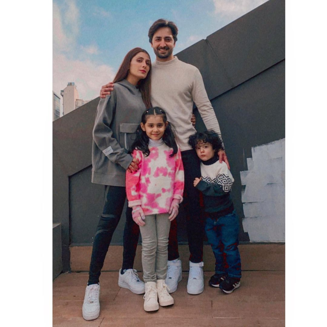 Ayeza Khan and Danish Taimoor with Family - Latest Pictures