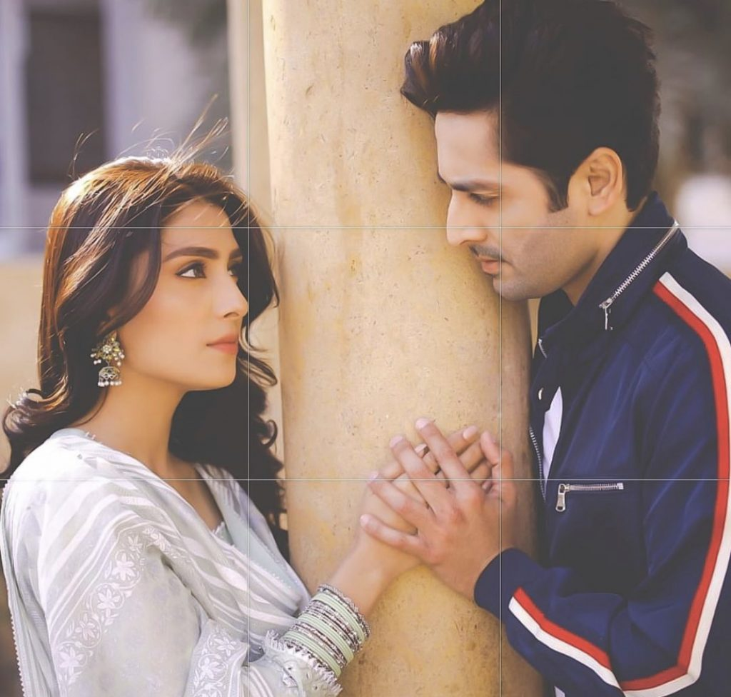 Ayeza Khan With Her Husband - Romantic Pictures