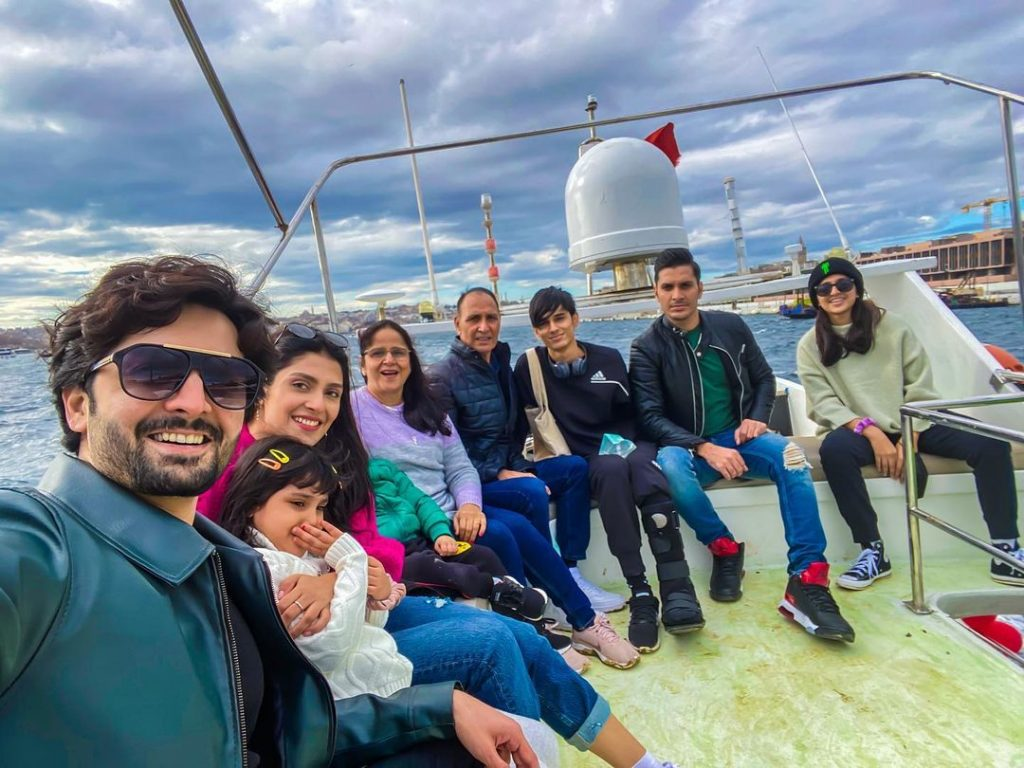 Ayeza Khan's Vacation Pictures With Family