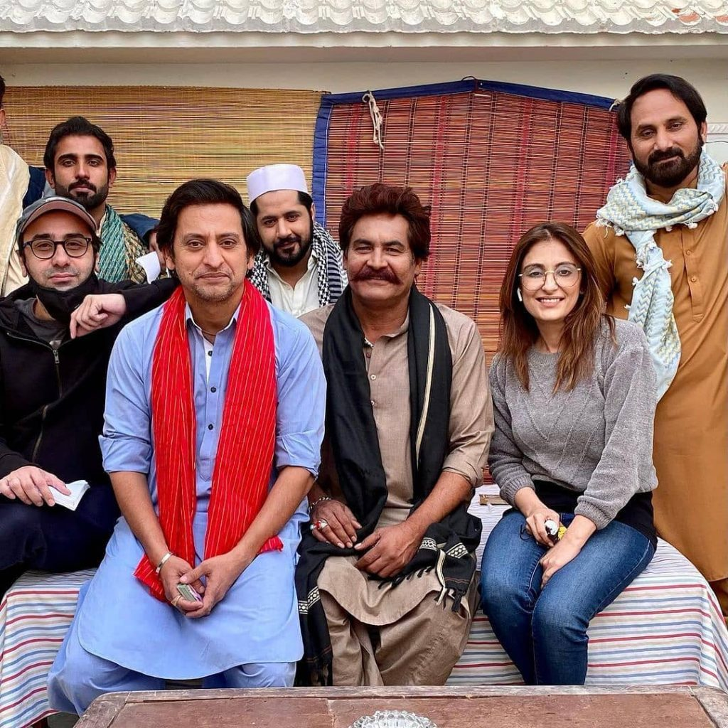 BTS Pictures And Videos From The Sets Of Raqs-e-Bismil