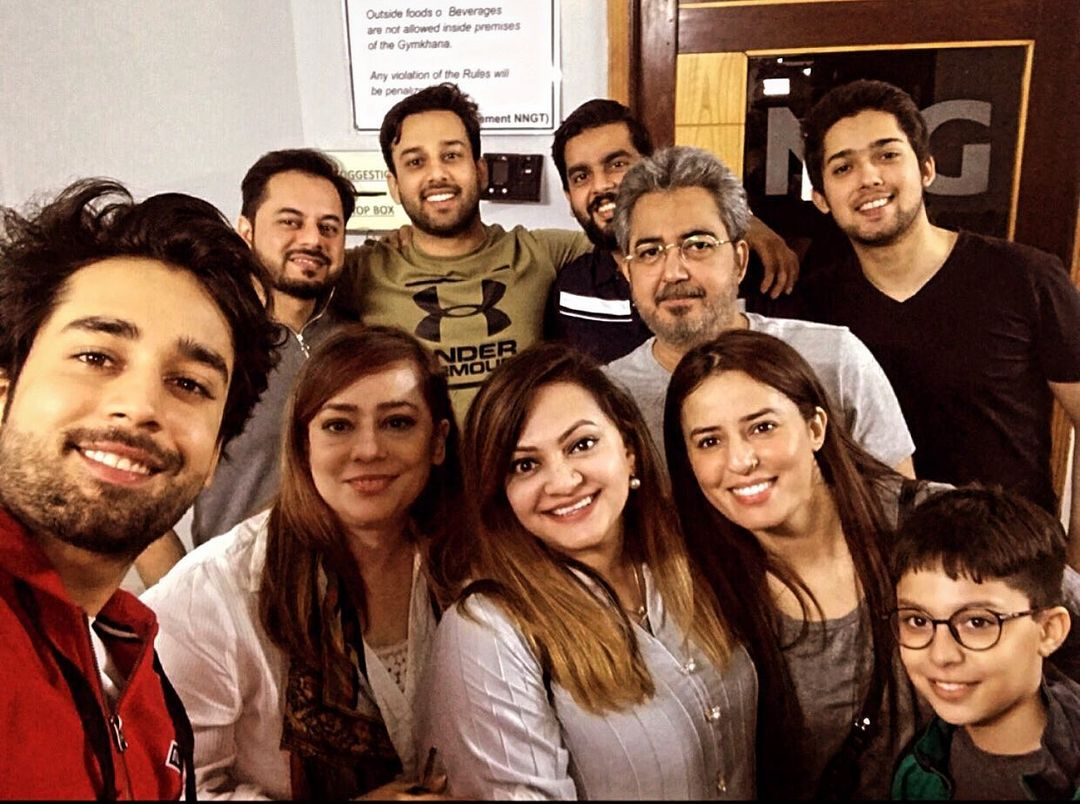 Bilal Abbas with his Brothers and Sisters - Beautiful Pictures