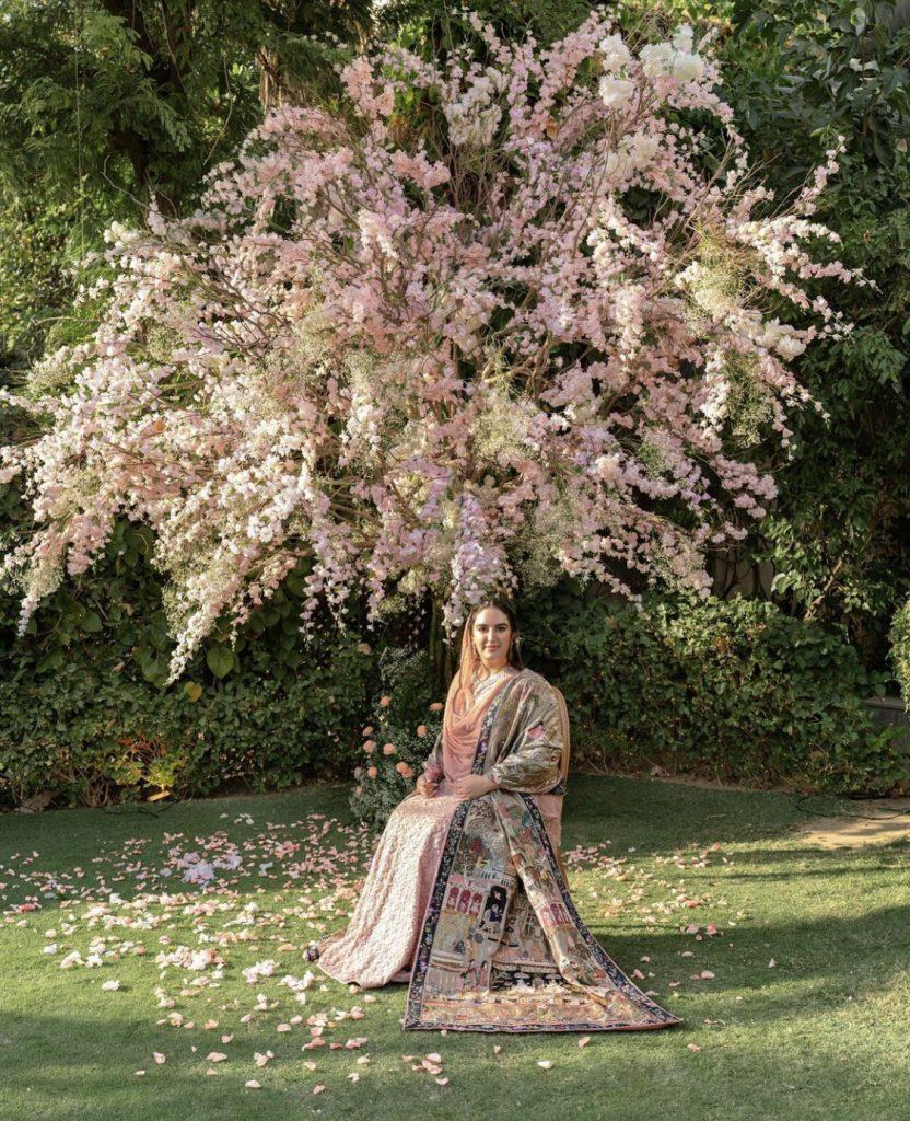 Bakhtawar Bhutto Showcase Her Engagement Shawl Details