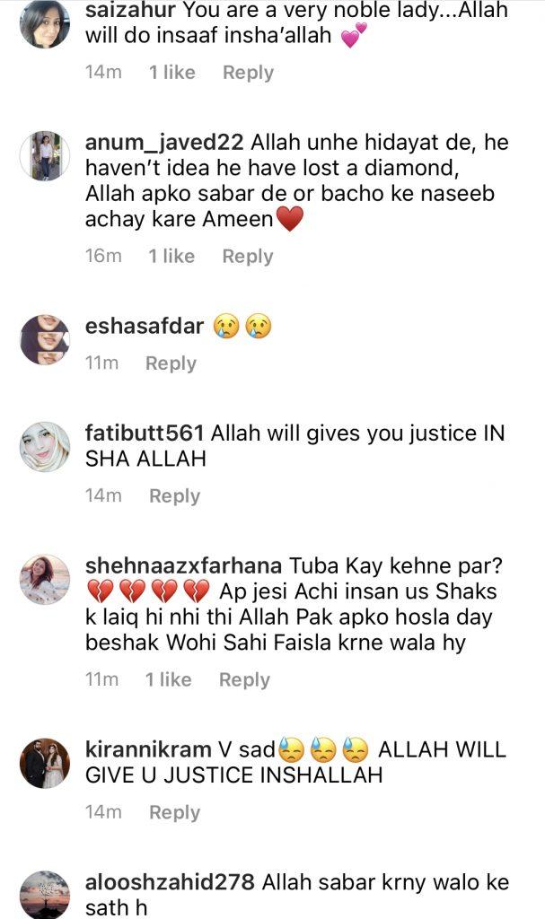 Syeda Bushra Iqbal Opens About Her Divorce