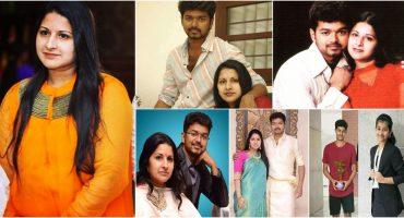 Vijay Wife | 10 Galvanizing Pictures