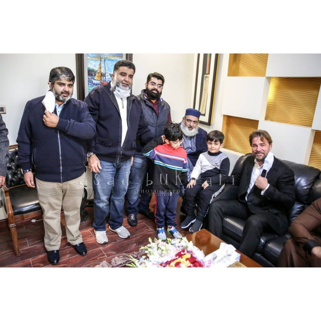 Engin Altan Reached Pakistan - Exclusive Pictures