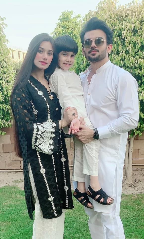Jalan Drama Star Fahad Sheikh With His Beautiful Family