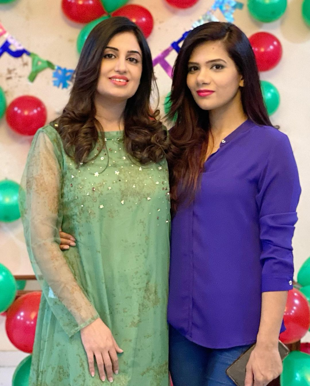 Iqrar ul Hassan Wife Farah Yousaf Birthday Pictures