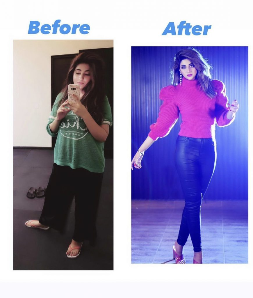 Fatima Sohail Body Transformation Pictures Are Amazing