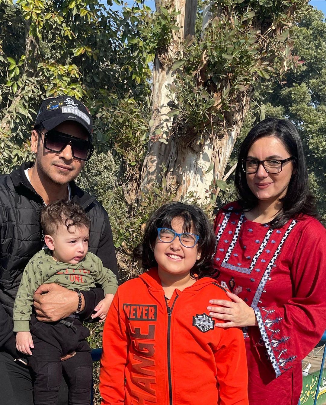 Faysal Qureshi Visited Jamshoro with his Family