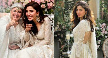 Mahira Khan's Heartfelt Note For Marina Khan