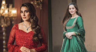 Tough Competition Between Ayeza Khan And Aiman Khan