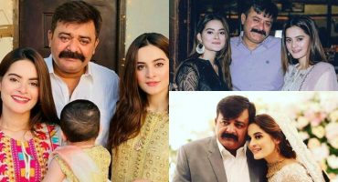 Aiman And Minal Khan's Father Passes Away