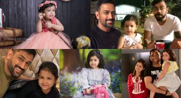 Dhoni Daughter   10 Lovable Pictures