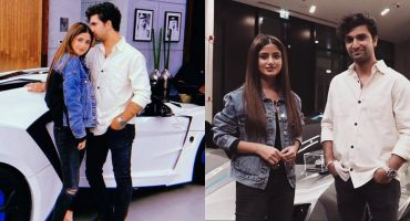 Ahad Raza Mir and Sajal Aly - Latest Beautiful Clicks